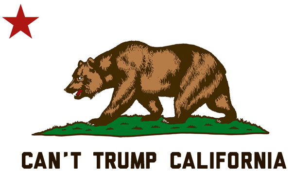 Can't Trump California